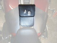 LEATHER POCKET for FULL LENGTH HARLEY CONSOLE