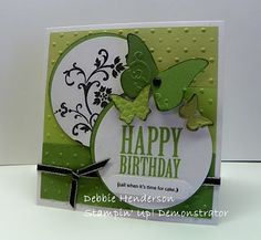 Debbie's Designs: Birthday Cards