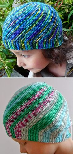Free Knitting Pattern for Vertigo Hat