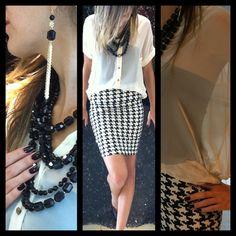 pied-de-poule #fashion