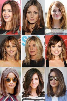 Cabelos Long Bob 2015 | Dicas de Mulheres
