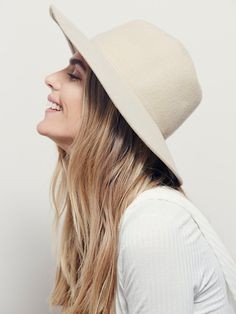 Free People Clean Slate Felt Hat at Free People Clothing Boutique Gorras 50527c9e794