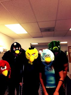Halloween Fun - Colorado Credit Union  It's the Angry Birds in Brighton, CO