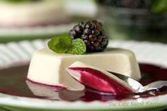 The Café Sucré Farine: Irish Blackberry Soup w/ Buttermilk Custard