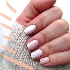 Gel Nail Designs You Should Try Out – Your Beautiful Nails Cute Acrylic Nails, Cute Nails, Hair And Nails, My Nails, No Chip Nails, Natural Gel Nails, Gel Nagel Design, Dream Nails, Cute Nail Designs