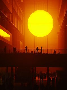 'The Weather Project' by Olafur Eliasson
