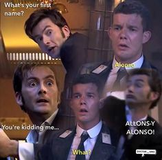 And tennant crossed another thing off his bucket list