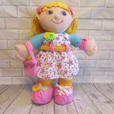 Dress Me Emily Doll Kidoozie Educational Toddler Plush 10 Dressing Activities #Kidoozie