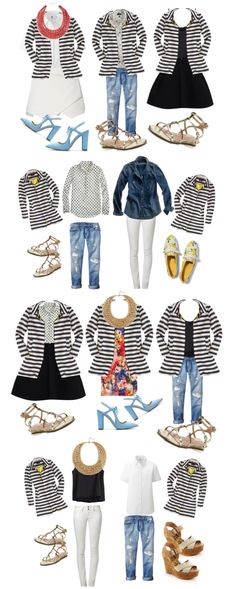 Color Me Courtney - New York City Fashion Blog: What to wear for spring 10 pieces 100 outfits !!!!