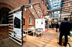 Human Touch Group Pavilion at Łódź Design Festival by mode:lina, Łódź – Poland » Retail Design Blog