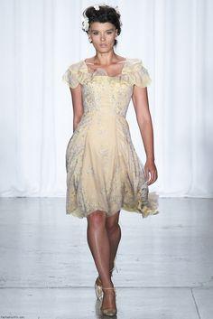 Zac Posen spring/summer 2014 collection - New York fashion week