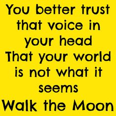 Up 2 U by WALK THE MOON TALKING IS HARD