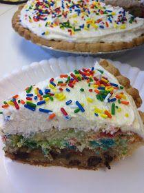 Smocked Auctions: Recipe: Cookie Cake Pie