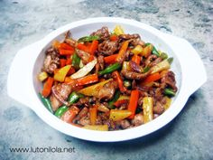 Chinese Chicken Stir Fry Recipes | Recipe #34: STIR-FRIED CHICKEN AND VEGETABLES Mga Luto Ni Lola