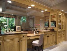 Custom Bath Cabinets from Fieldstone Cabinetry
