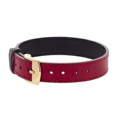 Leather bracelet red/black £26 #lilou #bracelet #christmas #present #lessthan35 #jewellery