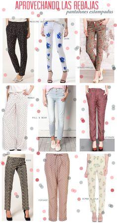aprovechando las rebajas: pantalones estampados | Mi Low Cost