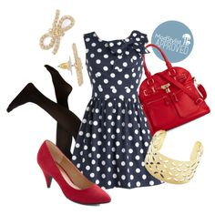 Polka dots are a splendid go-to for a stylish sea-inspired look!