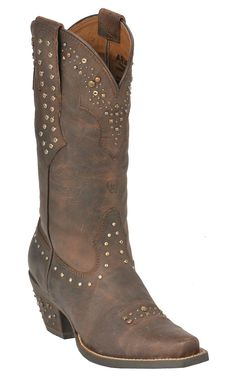 Ariat® Ladies Sassy Brown Rhinestone Cowgirl Snip Toe Western Boots | Cavender's Boot City - Need in Black