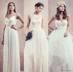 """Our editor's top picks from Divine Atelier 2014 #Wedding Dresses """" Poetica #Bridal Collection"""". #weddingdress #weddings #weddingdresses #editorspicks"""