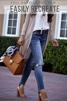 fall outfits you can easily recreate