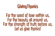 Autumn ~ Gratitude ~ Giving Thanks Verse Steiner Waldorf, Rhymes Songs, Waldorf Education, Physical Education, Inspired Learning, Finger Plays, Rudolf Steiner, Gratitude Quotes, Forest School
