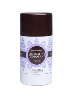 Lavanila The Healthy Deodorant in Vanilla Lavender http://www.ivillage.com/natural-beauty-products-best-organic-and-eco-friendly-finds/5-b-433156?nlcid=bs|05-24-2013|&_mid=1033032&_rid=1033032.33301.87459#457075