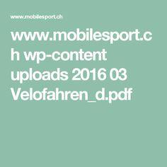 www.mobilesport.ch wp-content uploads 2016 03 Velofahren_d.pdf