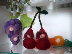 Fruitkindjes van vilt