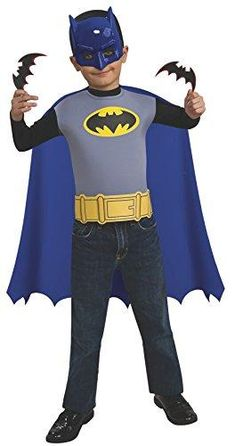 [halloween batman costumes kids] Rubies Batman The Brave and Bold Child's Costume Set *** Check this awesome product by going to the link at the image. (This is an affiliate link) Batman And Robin Costumes, Batman Costume For Kids, Superhero Costumes Kids, Halloween Costumes For Teens, Boy Costumes, Super Hero Costumes, Costume Ideas, Children Costumes, Brave And The Bold