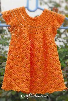 Pretty Lil' Girl's Dress: free pattern.