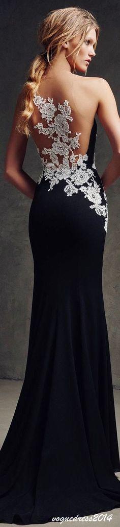 Black & White  #ball #banquet #gala #classy #elegant Ball Gown / Evening Dress