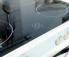 How to clean a glass top stove. I love the baking soda, water, and Lemon juice idea. And you can never go wrong with a magic eraser!