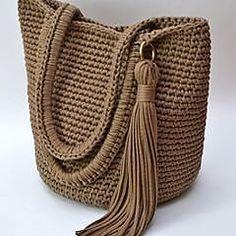 Best 11 103 The Best of Trend Crochet Bag Models Here – Page 42 of 103 – SkillOfKing. Diy Crochet Bag, Crochet Star Stitch, Diy Crafts Crochet, Bead Crochet, Crochet Handbags, Crochet Purses, Hand Knit Bag, Bag Pattern Free, Diy Handbag
