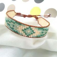 Ombre Flower Turquoise Bileklik / bracelet / shebnemden