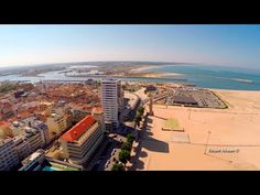 Figueira da Foz and Buarcos aerial view - YouTube