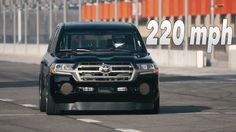 2017 Toyota Land Speed Cruiser  220mph - Video Debut