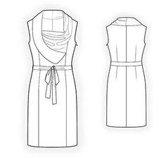 4352 Vestido personalizada Patrón PDF patrón de costura por TipTopFit