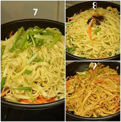 For Chicken: 1 Cup Chicken,thigh meat,bite sized pieces As per need Salt 1 tsp Soy Sauce tsp Cornstarch 1 tsp Vegetable Oil Chicken Stir Fry With Noodles, Fried Noodles Recipe, Stir Fry Noodles, Chicken Noodle Recipes, Easy Chinese Recipes, Quick Recipes, Free Recipes, Egg Noodle Stir Fry, Stir Fry At Home