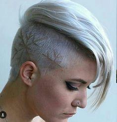 short haircuts for women 2016 - Real Hair Cut Short Hairstyles 2015, Undercut Hairstyles, Undercut Pompadour, Short Haircuts, Girl Short Hair, Short Hair Cuts For Women, Short Cuts, Hair Styles 2016, Short Hair Styles