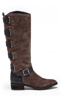 Franzie Suede Riding Boot...in total love!