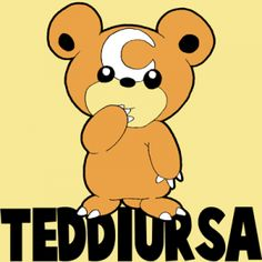How to Draw Teddiursa from Pokemon with Easy Step by Step Drawing Lesson