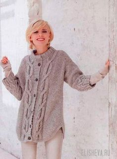 Craft Passions: Cable pattern cardigan# Free # knitting link here Knitting Patterns Free, Knit Patterns, Hand Knitting, Free Pattern, Cardigan Pattern, Knit Cardigan, Knit Sweaters, Knit Jacket, Vintage Knitting
