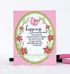 Love the colors, such a happy card!