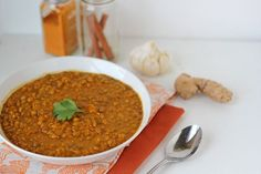 Simple Lentil Dal [Vegan]