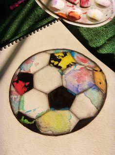 Football drawing