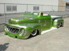 Green Lead Sled Pickup