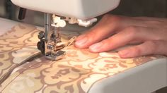 This easy-to-follow instructional video demonstrates how to install a zipper using a self-basing zipper.