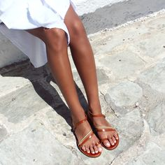 Meet the weekend sandals you'll wear on repeat. Design details we're loving: the intricate straps and that walkable sole! 🔂🍉🌞 #papanikolaoushoes #komisandkomis #leathershoes #sandals #summershoes #summer #islands #walks #life On Repeat, Summer Shoes, Walks, Leather Shoes, Birkenstock, Islands, Meet, Sandals, How To Wear