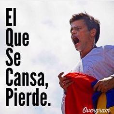El que se cansa pierde #resistenciavenezuela #sosvenezuela #prayforvenezuela